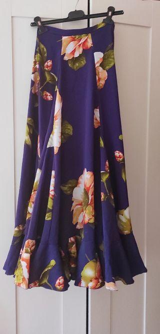 Falda de flamenca niña