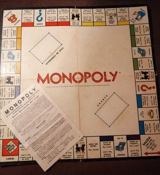 Tablero Monopoly antiguo