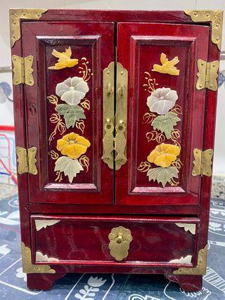 Joyero madera estilo oriental