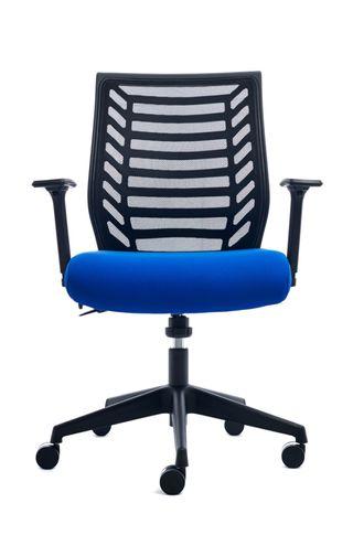 silla oficina sincro rd-907 azul