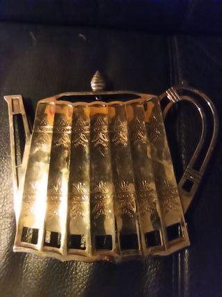 salvamanteles en forma de tetera Godinger Silver