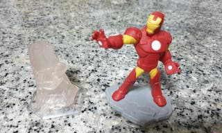 Disney infinity figura Iron-man y cristal