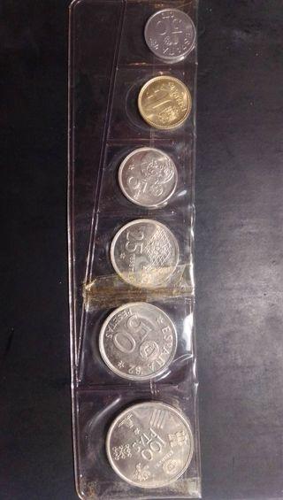 serie monedas pesetas 1980 *80 sc