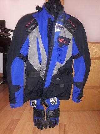 Chaqueta de moto mujer Spidi, regalo guantes
