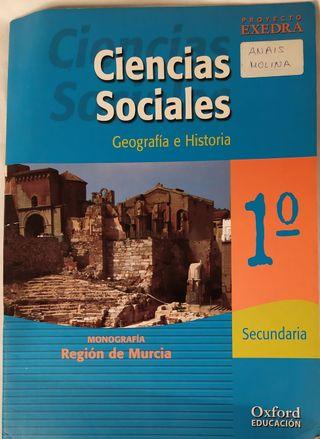 LIBRO TEXTO CIENCIAS SOCIALES GEOGRAFIA E HISTORIA