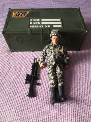Action Man muñeco