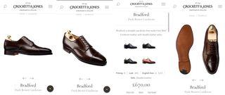Zapatos Crockett & Jones Marrón Cordovan