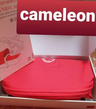 pack bugaboo cameleon rojo