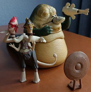 Jabba The Hutt del Episodio VI de Star Wars