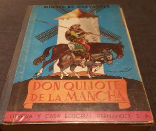 Don Quijote de la Mancha Ed. Escolar 1969