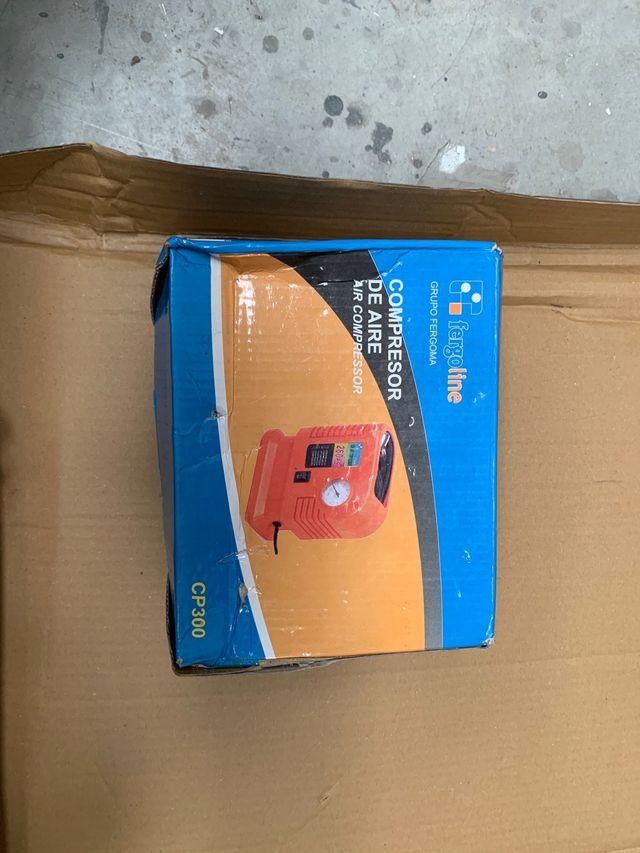 Compresores de aire para neumáticos portátiles.