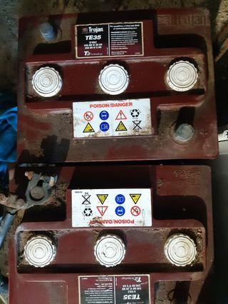 Batería de gel para placa solar