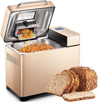 máquina de pan de acero inoxidable