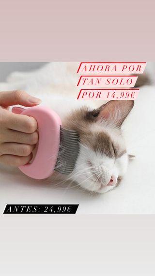 Peine de masaje para depilación de gatos y perros
