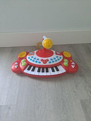 teclado piano musical el corte inglés niños