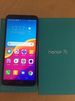 móvil honor 7s con prot pantalla.