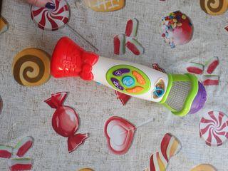 microfono infantil con sonidos canciones