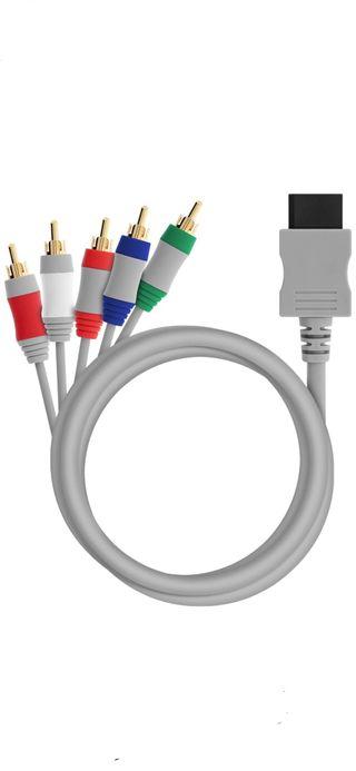 Cable por componentes wii