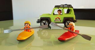 Playmobil piraguas
