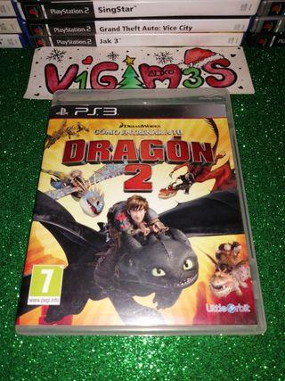 Como entrenar a tu dragón 2 ps3 playstation 3