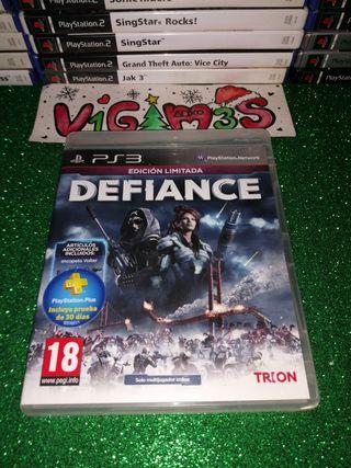 Defiance edición limitada ps3 playstation 3