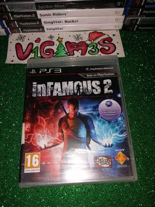 Infamous 2 Precintado ps3 playstation 3