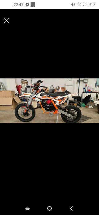pit bike 125cc roan 2020 nueva mejor ver y probar