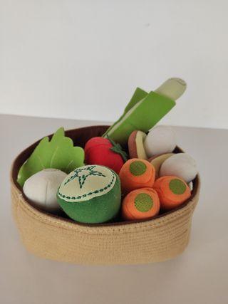 Juego de verduras Ikea