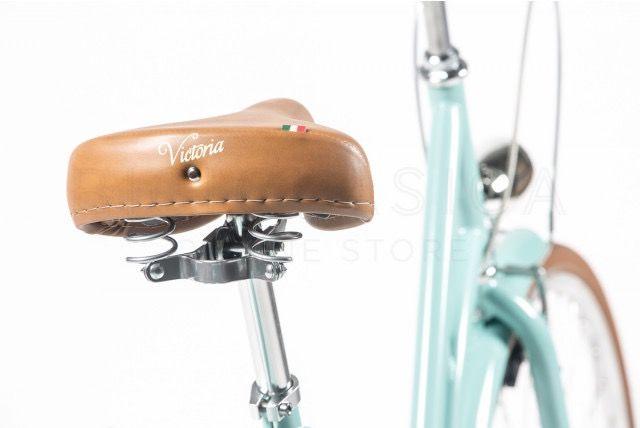 Bicicleta de Paseo Capri Berlin Aquamarina-Marrón