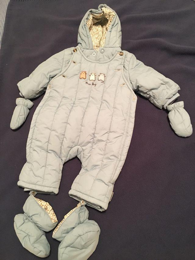 Buzo anorak de bebé 3 meses de chicco