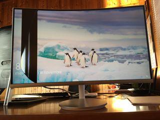 Monitor Samsung curvo