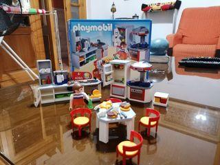 playmobil cocina