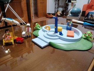 playmobil piscina