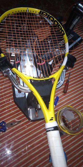 Encordado de raquetas