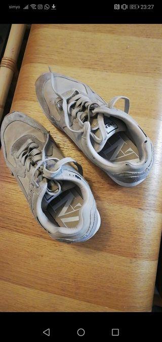 bambas zapatillas Zara 37