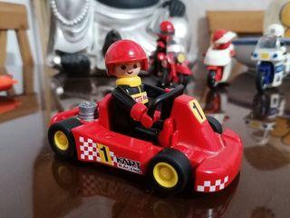 playmobil coche carrera