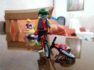 playmobil ciclista