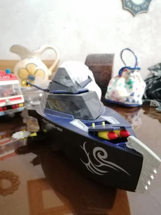 playmobil barco accion