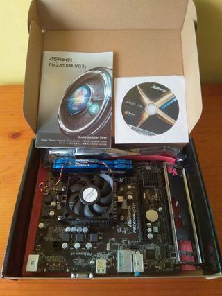 Pack Procesador + Placa base + Memoria RAM