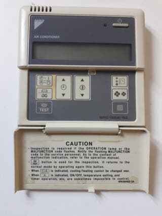control termostato de aire acondicionado daikin