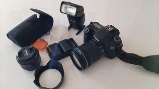 Cámara de fotos -- Canon Eos 70d