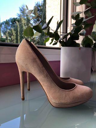 Zapatos Nude Zara
