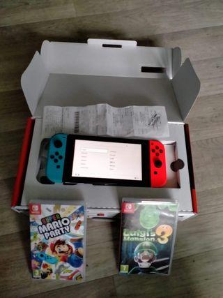 Nintendo Switch + 2 Jeux