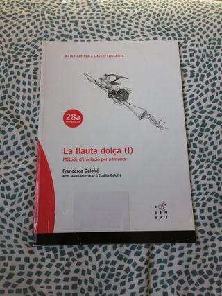 la flauta dolça (I) ISBN 978 84 85008 35 3