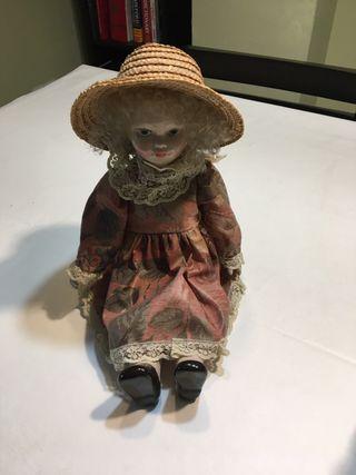Muñeca porcelana años 70