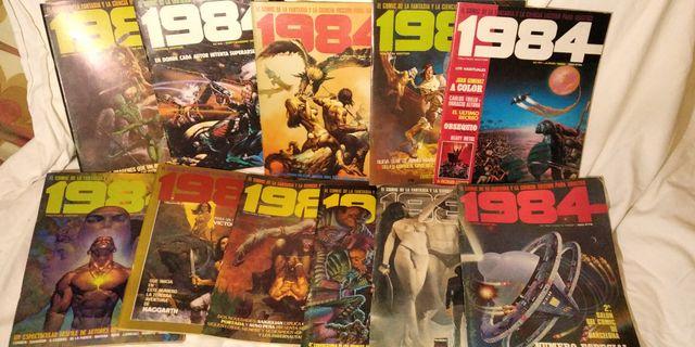 Comics 1984 Completa de Juan Gimenez