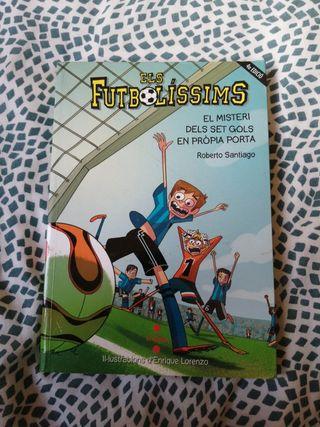 llibre els futbolissims en perfecto estado