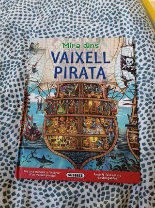 llibre Mira dins, El vaixell pirata