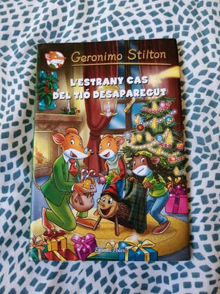 llibre Geronimo Stilton de tapa dura