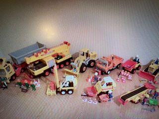 Colección obras de playmobil